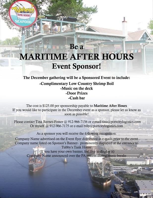 Maritime Dec 2010 Sponsor Letter