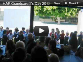 JK Grandparent's Day Performance