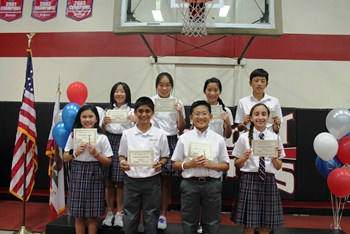 6th Grade Director's Honor Roll Students
