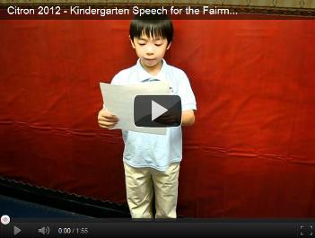 Vincent Speech