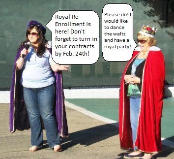 Royal Re-Enrollment
