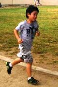 Kai at the Run for Fun