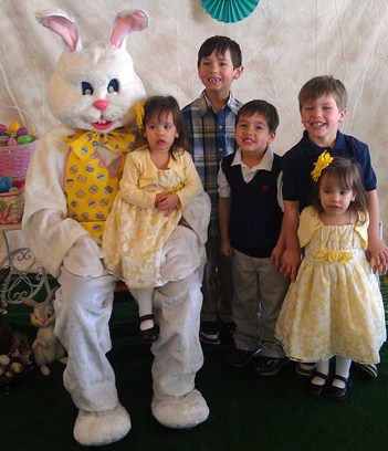 The Easter Bunny and the Conants