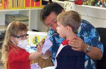 Dr. Okawachi Visits