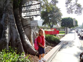 Julia's First Day of School