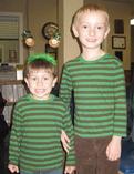 St. Patrick's Day Twins