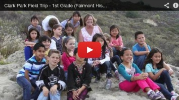 First Graders at Ralph B. Clark Regional Park