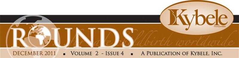 Kybele December Newsletter Rounds Header Image