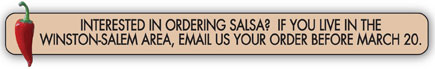 Order Your Salsa