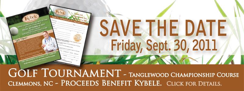 2011 Golf Tournament Banner