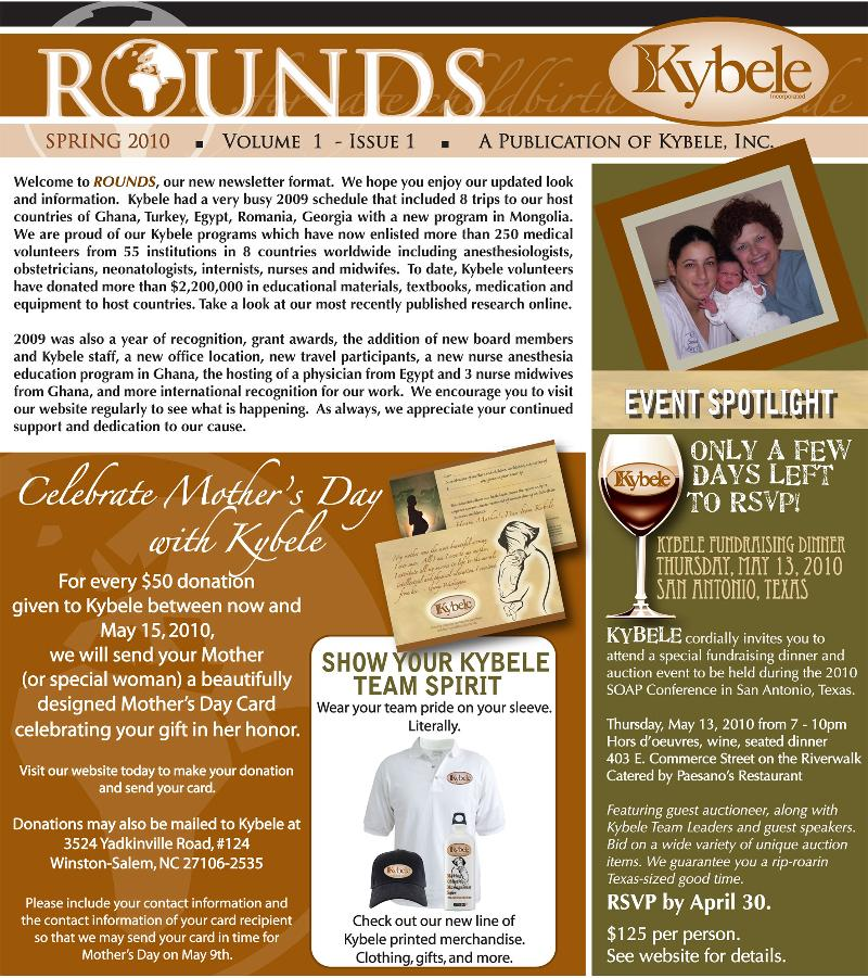 Kybele Newsletter A