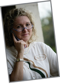 Dr. Medge Owen in Ghana