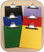 Saunders' Recycled Opaque Plastic Clipboards