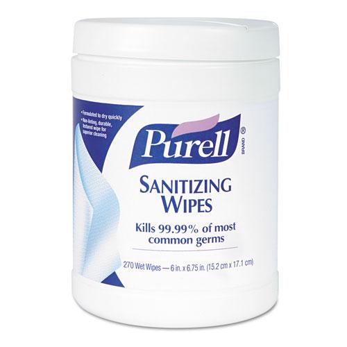 Purell Wipes Tub