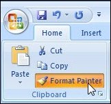 Microsoft Office Format Painter