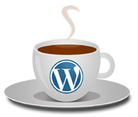 WordPress and coffee