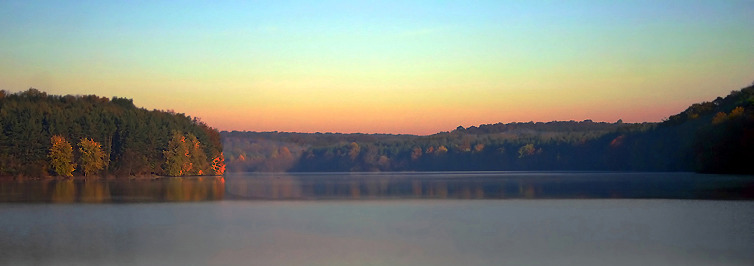 Peaceful Lake banner