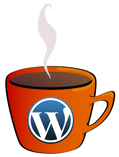 WordPress coffee mug