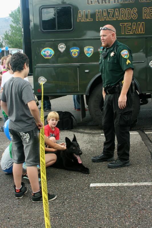 Deputy, Dog, All Hazards Truck
