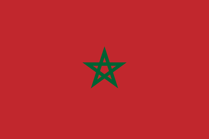 Cleaner Morocco Flag Image