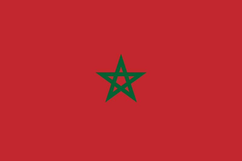 Cleaner Morocco Flag Image