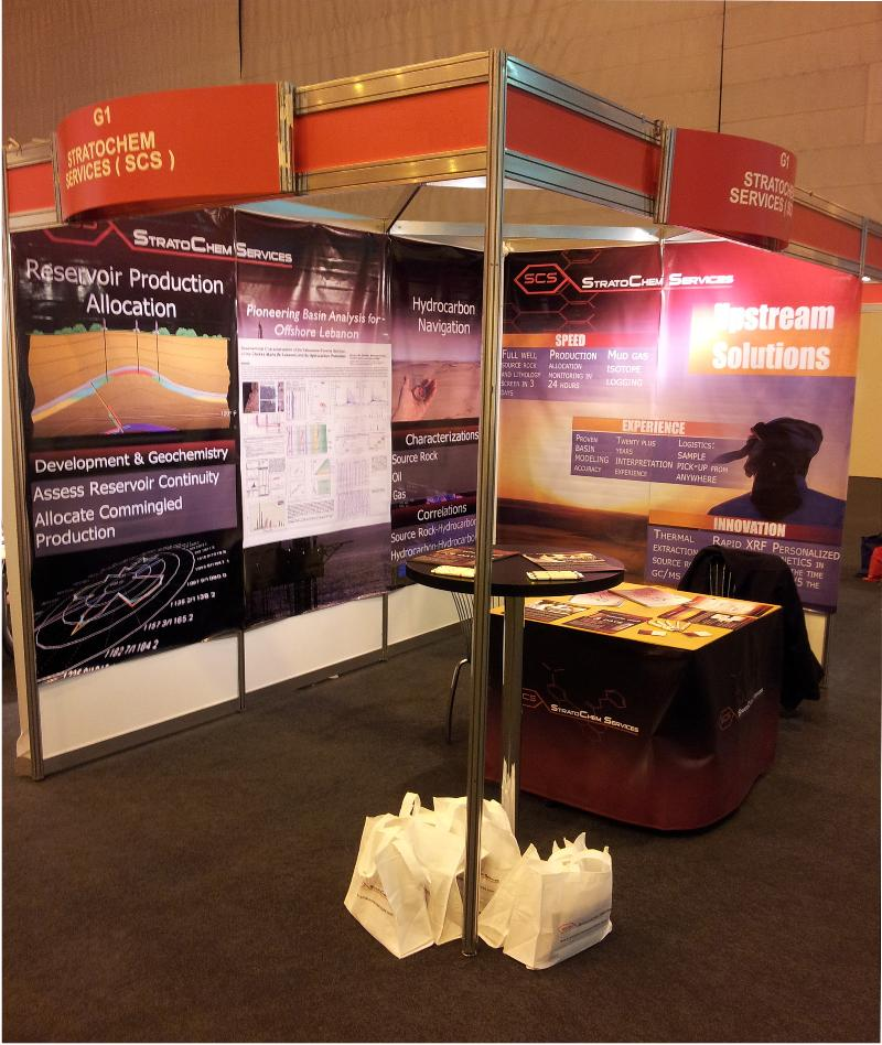 PETEX 2012 Booth