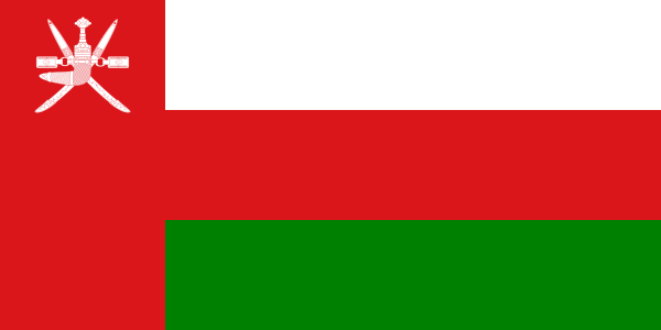 Flat Omani Flag