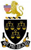 Phi Mu Delta Crest