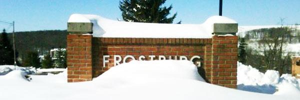 Frostburg Snow