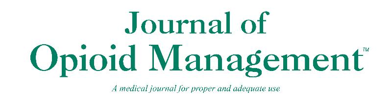 Image result for Journal of Opioid Management