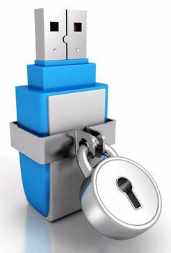 Locked Memory Stick Image