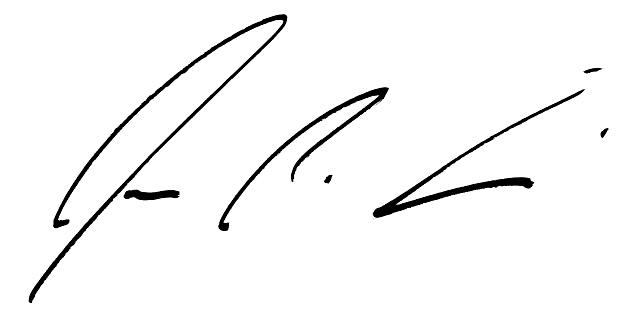 signature of jw