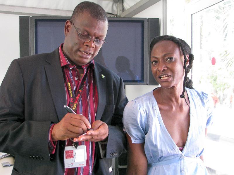 Rhamatou Kieta & Nigerian Film Commissioner