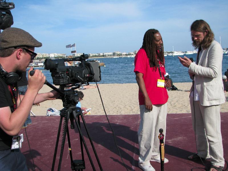 Taliaferro Interviewed by Inside Cannes
