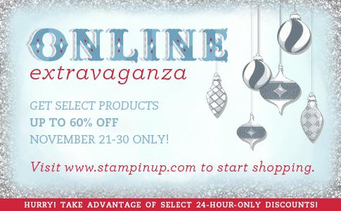 Stampin' Up! Online Extravaganza!!!