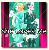 """""""She Loves Me"""" poster"""