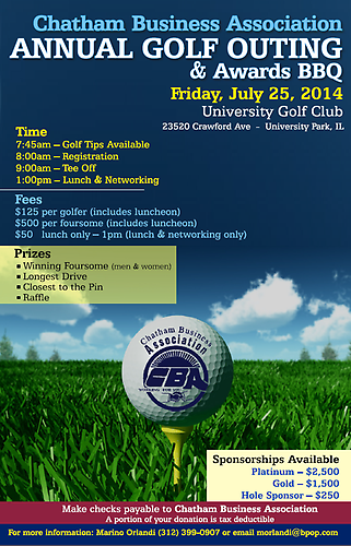 CBA Annual Golf Outing
