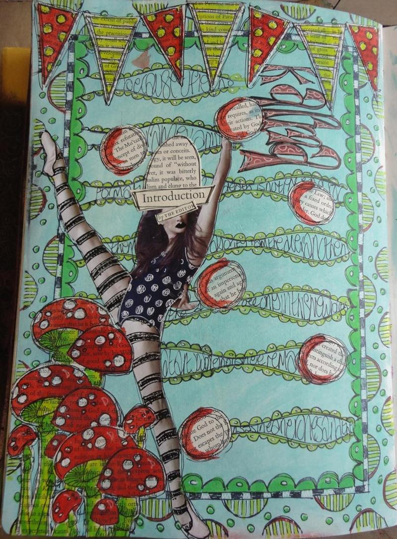 Beginner Art Journaling