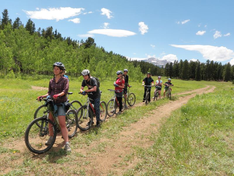 Riding at Camp Tahosa with CO Youth Project