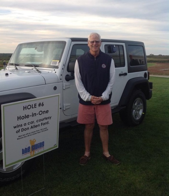 Phil Stambaugh Shot A Hole-in-one To Win A 2015 Jeep