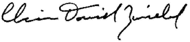 Zwiebel, Chaim Dovid Signature