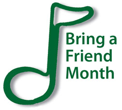 Bring a Friend Month