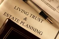 living trust document image