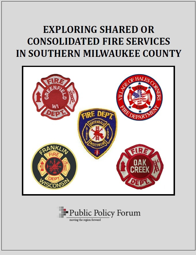 Southern Milwaukee County Fire Report Cover