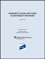 2012 Property tax report cover