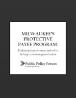Protective Payee Report Cover
