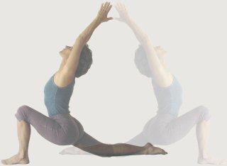 Yoga Woman Pose