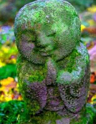Meditation Stone figure