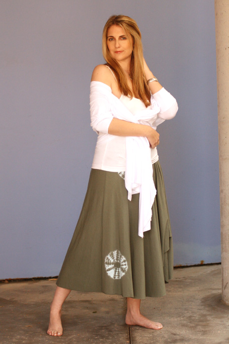 Rochelle in skirt