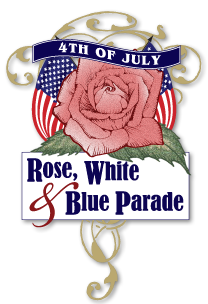 Rose White and Blue logo